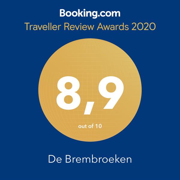 Traveller Review Award, Booking.com