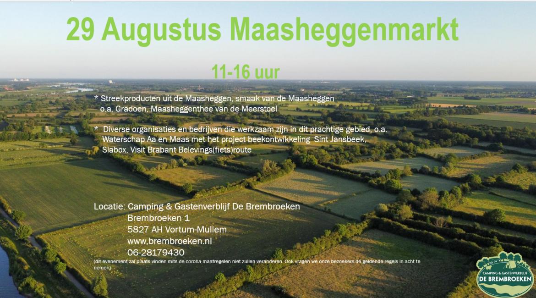 29 augustus 11:00 -16:00 Maasheggenmarkt op de Brembroeken
