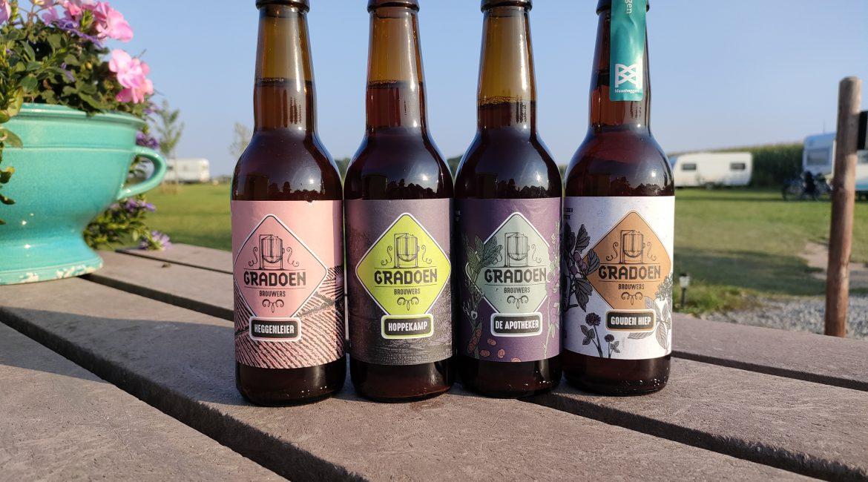 Gradoen speciaal bier uit de Maasheggen bij de Brembroeken verkrijgbaar